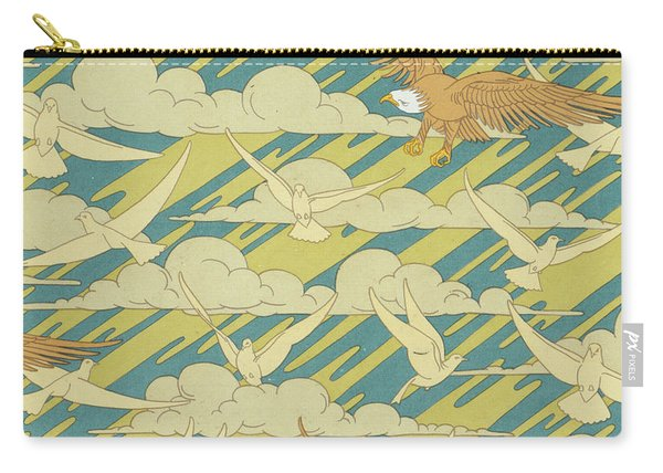 Eagles And Pigeons Carry-all Pouch