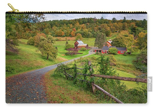 Early Fall At Sleepy Hollow Farm Carry-all Pouch