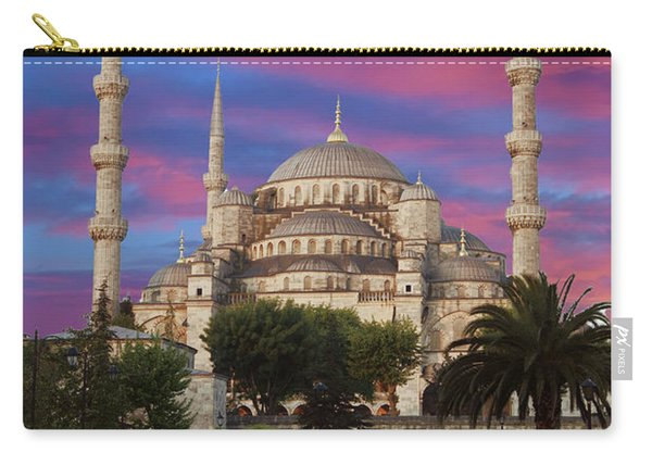Early Morning Light On  Sultan Ahmet Camii Carry-all Pouch