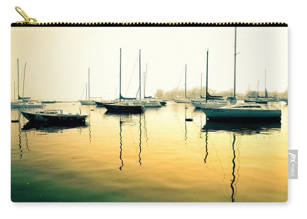 Early Mornings At The Harbour Carry-all Pouch