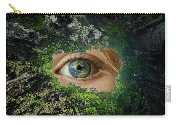 Earth Is Watching You Carry-all Pouch