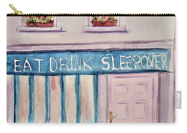 Eat Drink Sleepover Carry-all Pouch