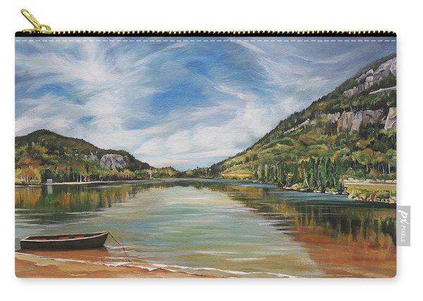 Echo Lake In Franconia Notch New Hampshire Carry-all Pouch
