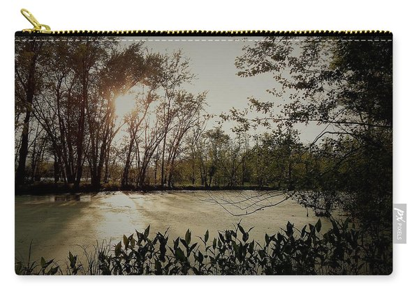 Echoes In Time Carry-all Pouch