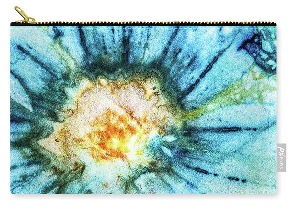 Eco Dyed Cosmos Carry-all Pouch