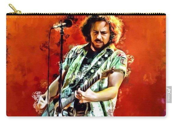 Eddie Vedder Portrait Carry-all Pouch