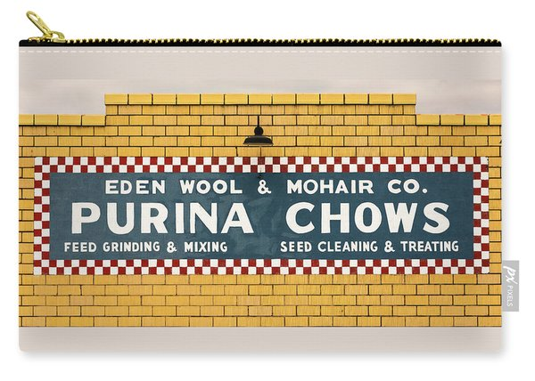 Eden Wool - Purina Chows #1 Carry-all Pouch