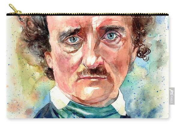 Edgar Allan Poe Portrait Carry-all Pouch