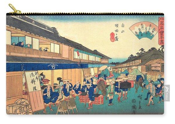 Edo Komeikaiteizukushi - Hakusan, Keiseiga Kubo Carry-all Pouch