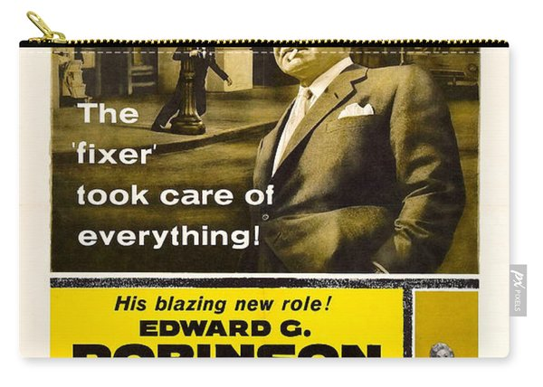 Edward G. Robinson In 1955 Film Illegal Carry-all Pouch