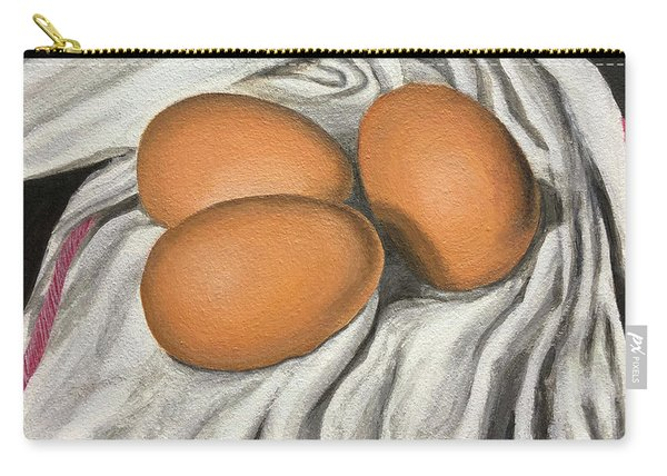 Eggs Still Life Carry-all Pouch