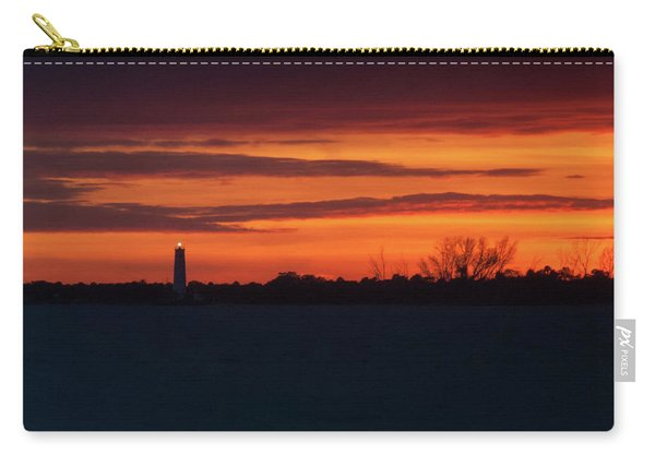 Egmont Key Lighthouse Sunset Carry-all Pouch