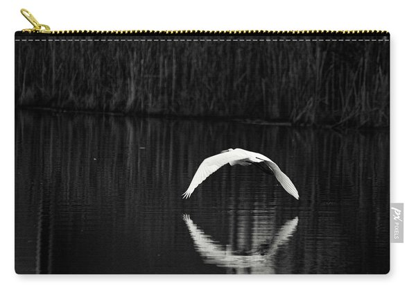 Egret Aureole Carry-all Pouch