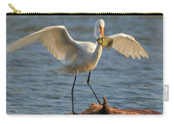 Egret  Carry-all Pouch