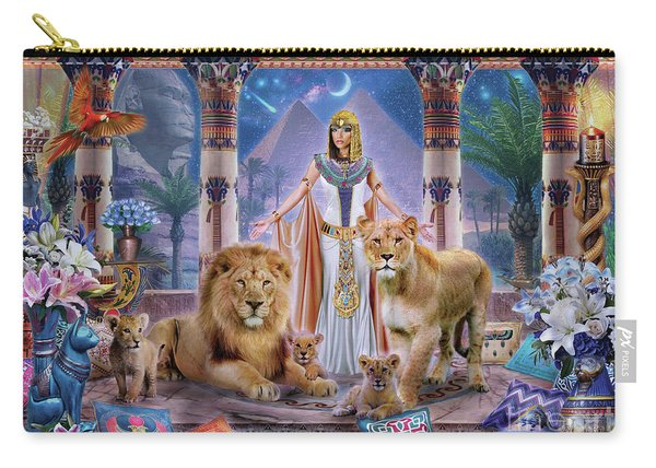 Egyptian Princess II. Carry-all Pouch