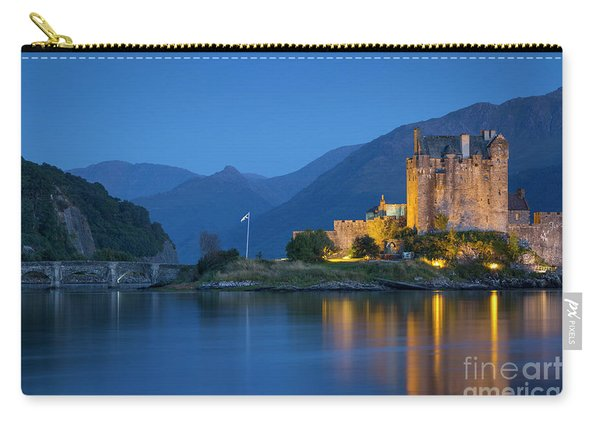 Eilean Donan Castle At Night Carry-all Pouch