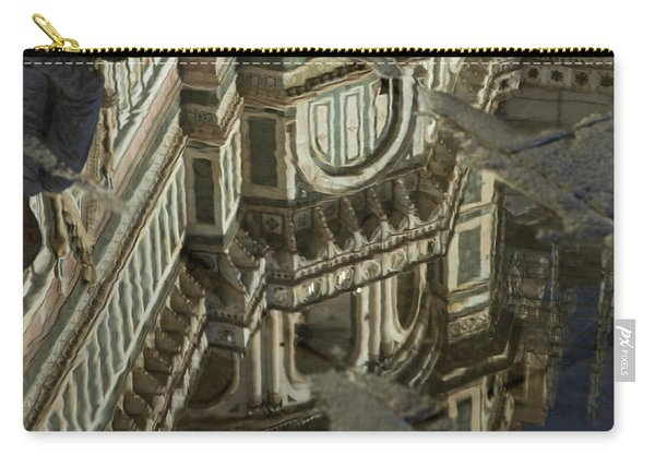 el Duomo The Florence Italy Cathedral Reflections Carry-all Pouch