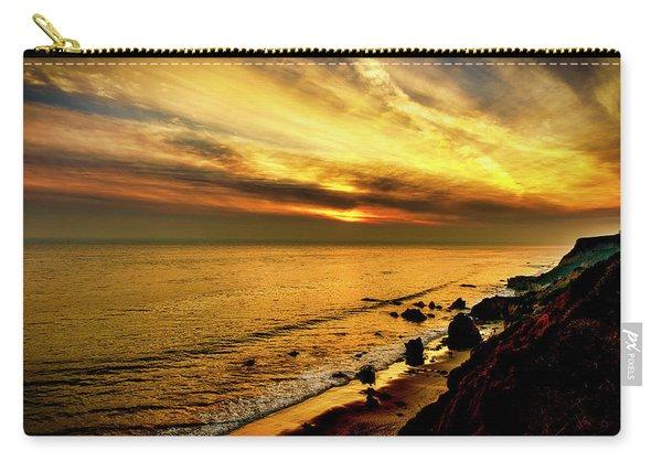 El Matador Beach Sunset Carry-all Pouch