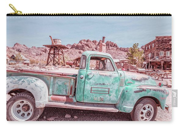 Eldorado Ghost Town Searchlight Nevada Pano Carry-all Pouch
