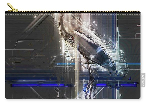 Electric Heron Carry-all Pouch