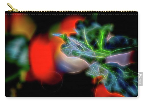 Electric Leaves Carry-all Pouch