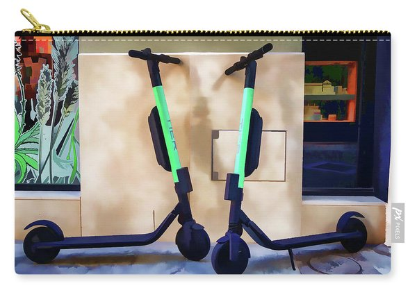 Electrical Twins Carry-all Pouch