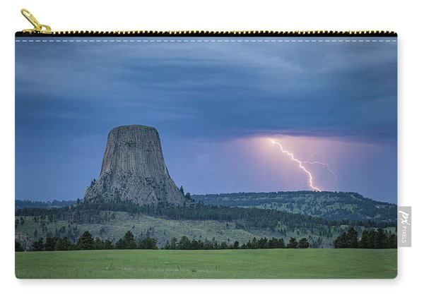 Electrifying Night Carry-all Pouch