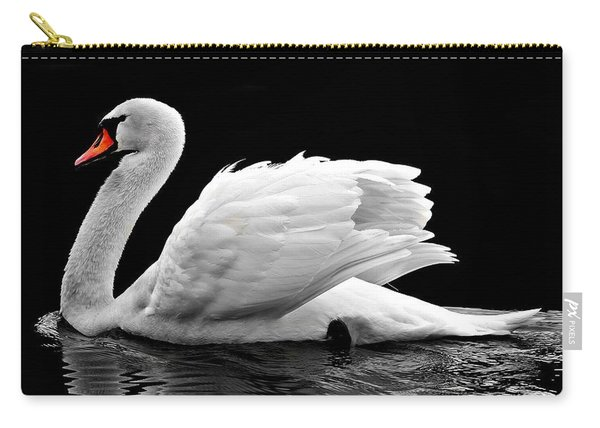Elegant Swan Carry-all Pouch