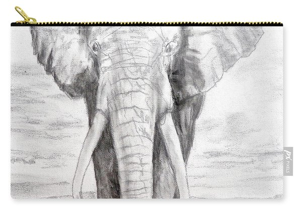 Elephant Carry-all Pouch