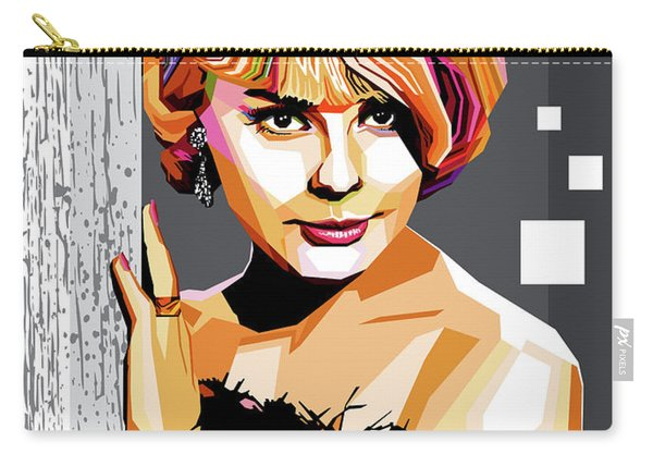 Elke Sommer Carry-all Pouch