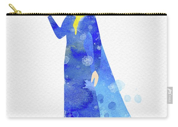 Elsa Watercolor Carry-all Pouch