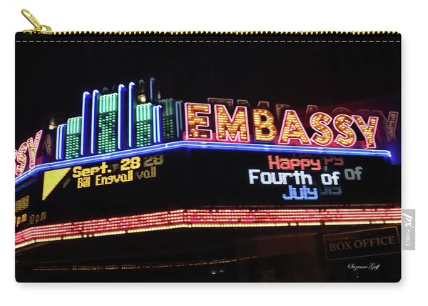 Embassy Marquee Carry-all Pouch