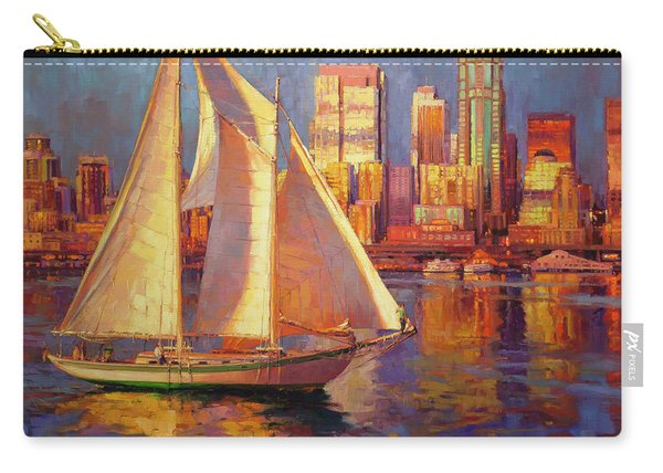 Emerald City Twilight Carry-all Pouch