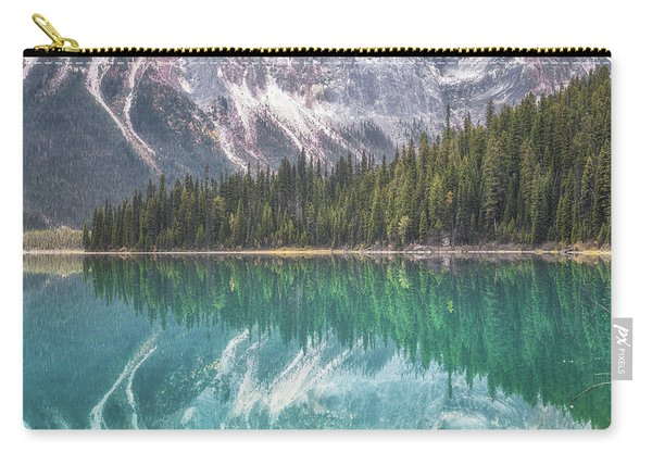 Emerald Lake Reflection No 2 Carry-all Pouch