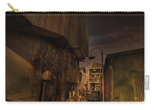 Carry-all Pouch featuring the photograph Emily Carr Alley by Juan Contreras