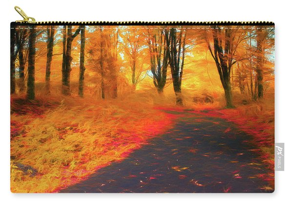 Emmaus Community Park Path - Colors Of Fall Carry-all Pouch