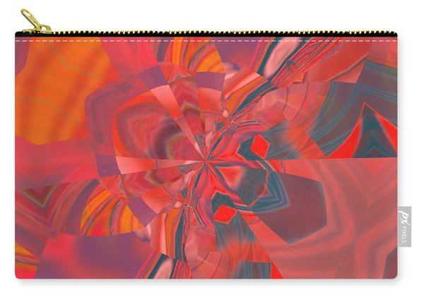 Carry-all Pouch featuring the digital art Emotion by A zakaria Mami