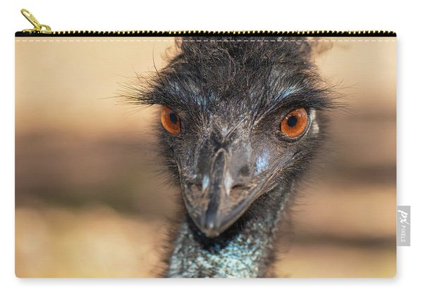 Emu By Itself Outdoors During The Daytime. Carry-all Pouch