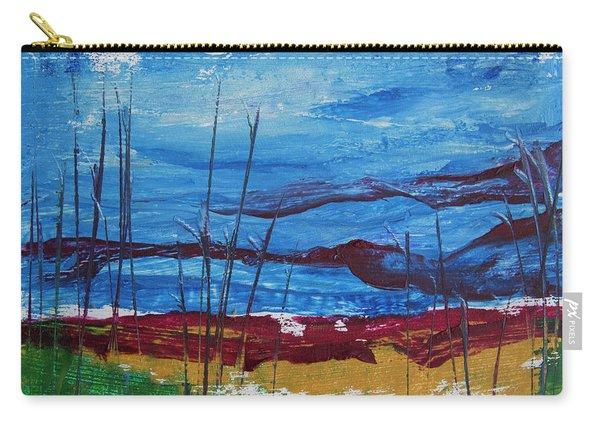 Encaustic Landscape Carry-all Pouch