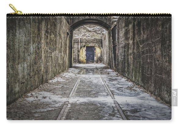 End Of The Tracks Carry-all Pouch