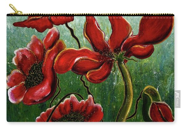 Endless Poppy Love Carry-all Pouch