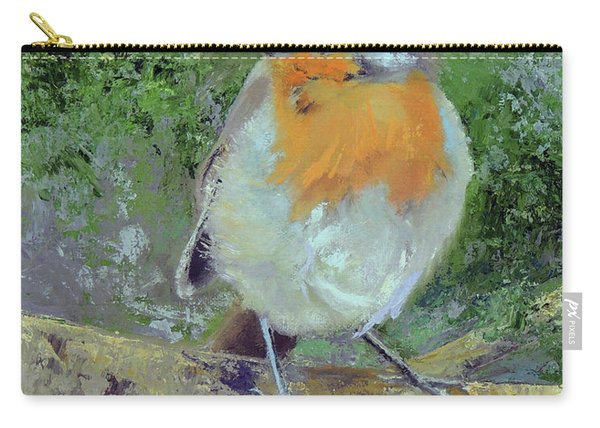 English Robin Carry-all Pouch