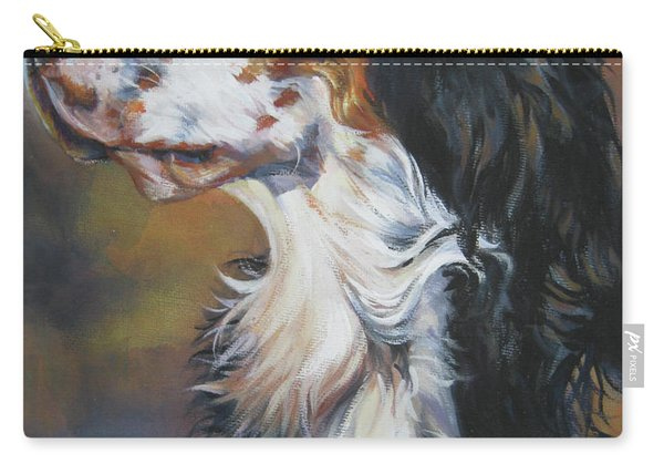 English Setter Tricolor Carry-all Pouch