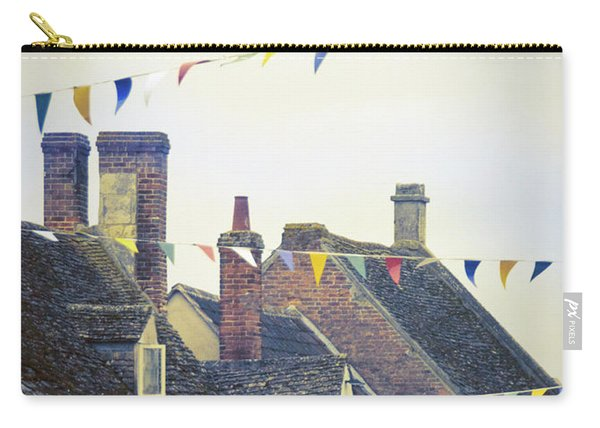English Village Bunting Carry-all Pouch