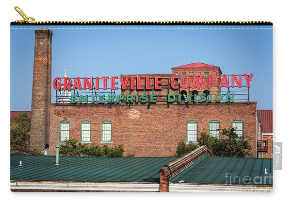 Enterprise Mill - Graniteville Company - Augusta Ga 2 Carry-all Pouch