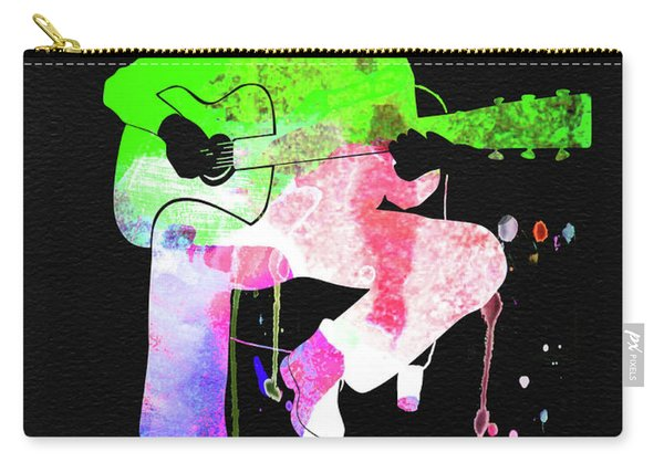 Eric Clapton Stone Watercolor Carry-all Pouch