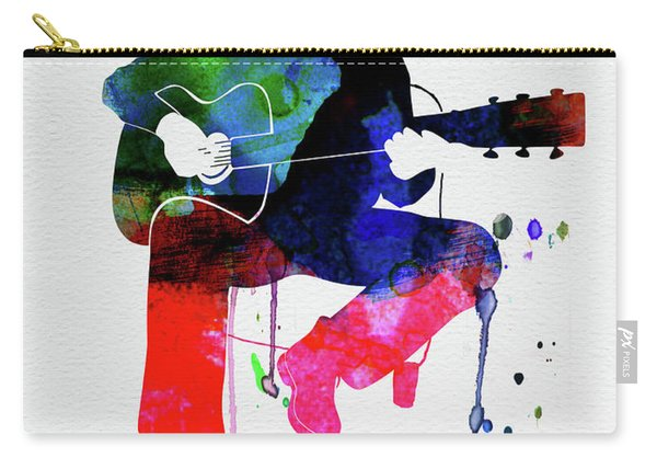 Eric Clapton Watercolor Carry-all Pouch