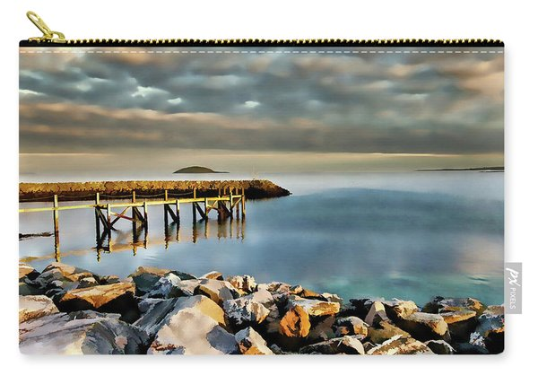 Eriskay Digital Painting Carry-all Pouch