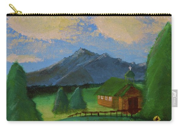 Esterbrook Chapel, Wyoming Carry-all Pouch