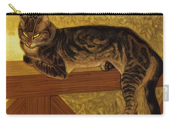 Ete, Chat Sur Une Balustrade, 1909 Carry-all Pouch
